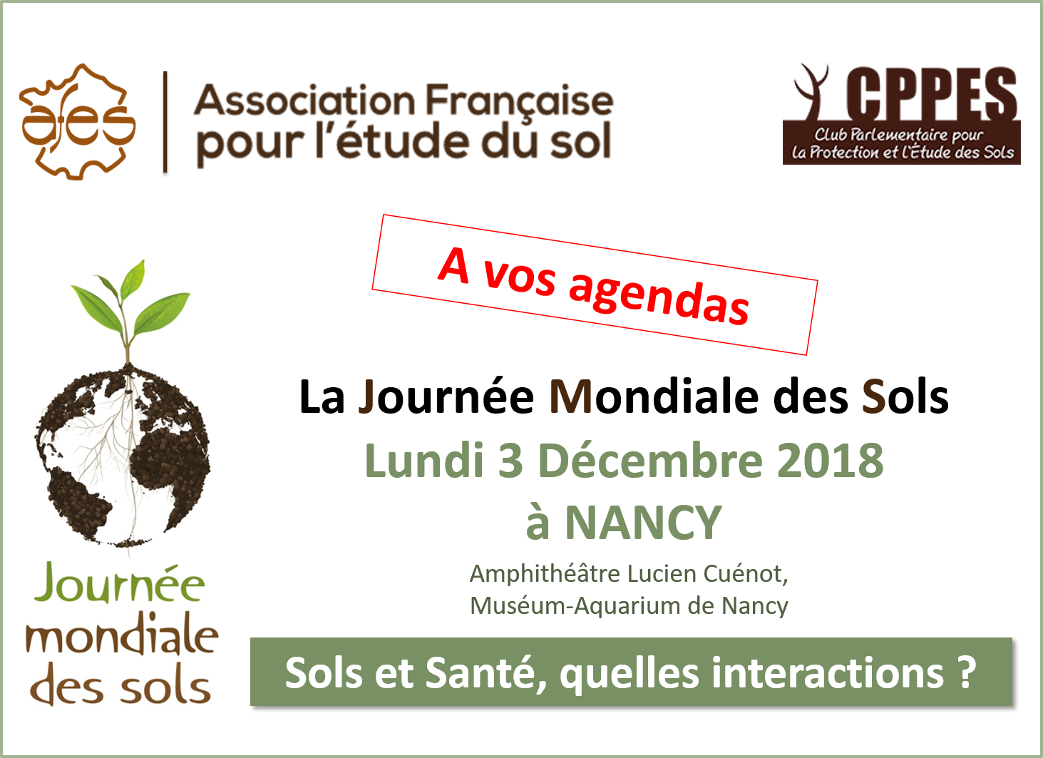 AFES - JMS 2018 a vos agendas avec lieu - 2018 10 08