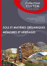 Sols et matières organiques - Mémoires et héritages